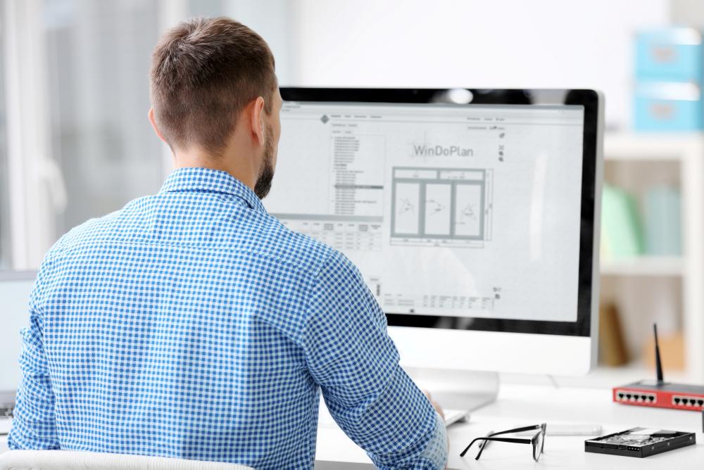 Digitale Fensterplanung am PC