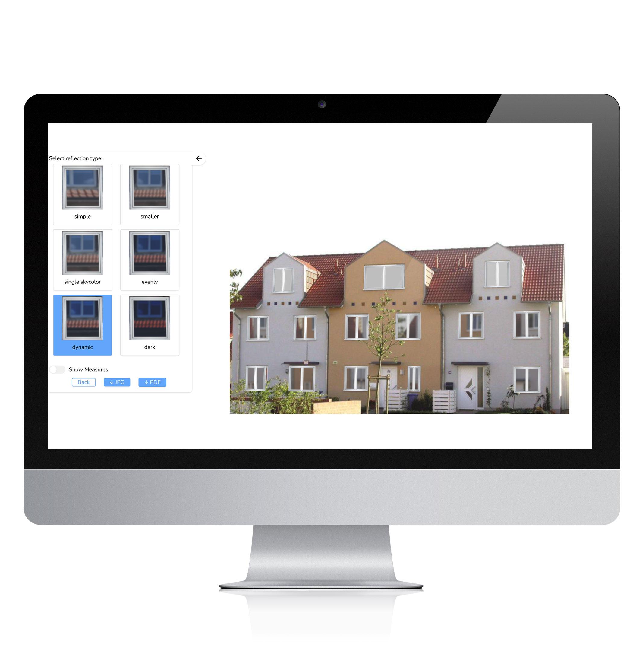 FacadeViewer as a web application on the desktop